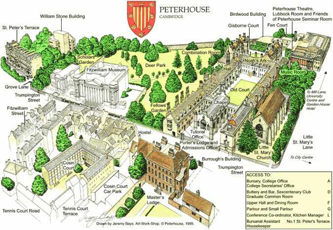 peterhouse college cambridge history essay